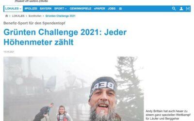 Die Grünten-Challenge 2021: Der Kreisbote hat berichtet!